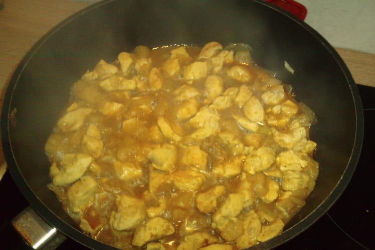 Poulet au curry authentique