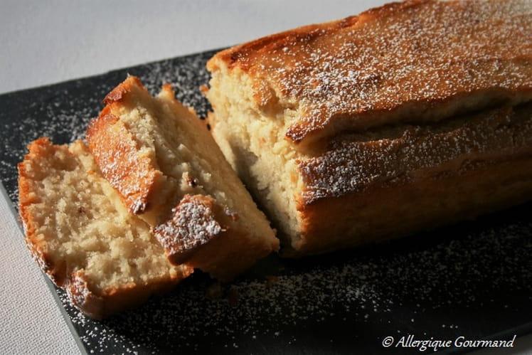 Gâteau bio à la ricotta, huile d'olive, sans oeufs et sans gluten