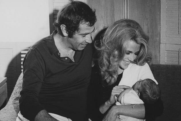 Jane Fonda et Roger Vadim