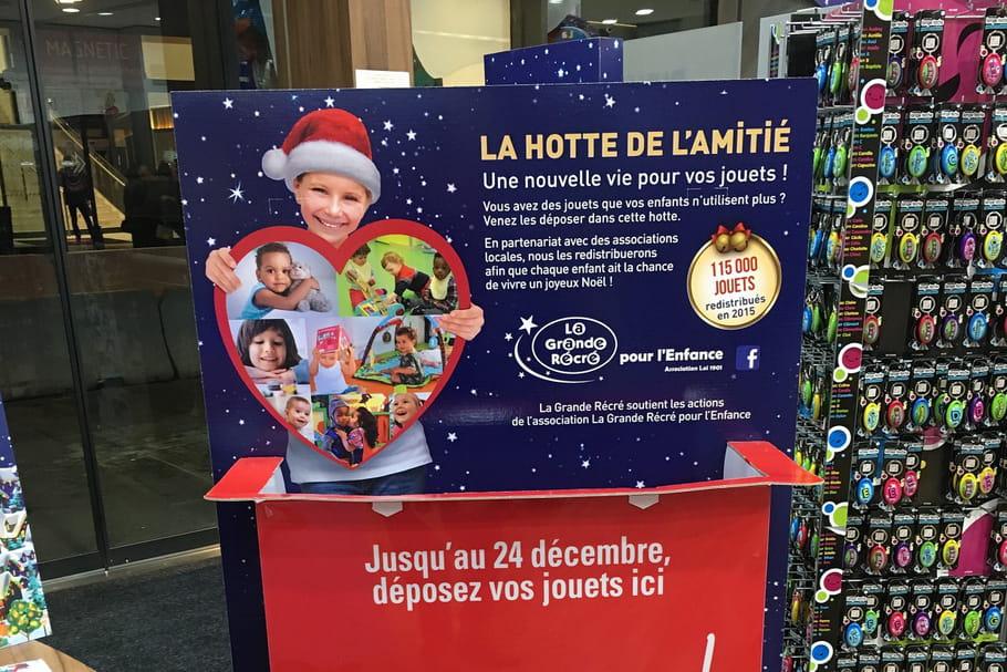 La Grande Récré collecte d'anciens jouets pour Noël