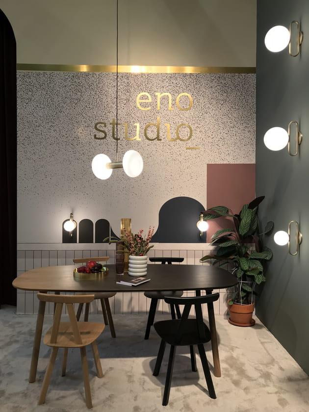Le papier peint Fragments, design Numéro 111pour ENOstudio