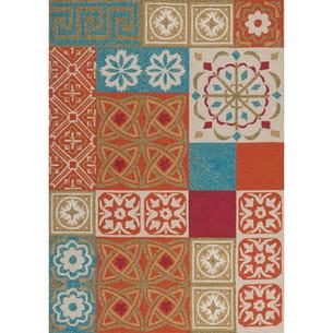 tapis namada orange d'un amour de tapis