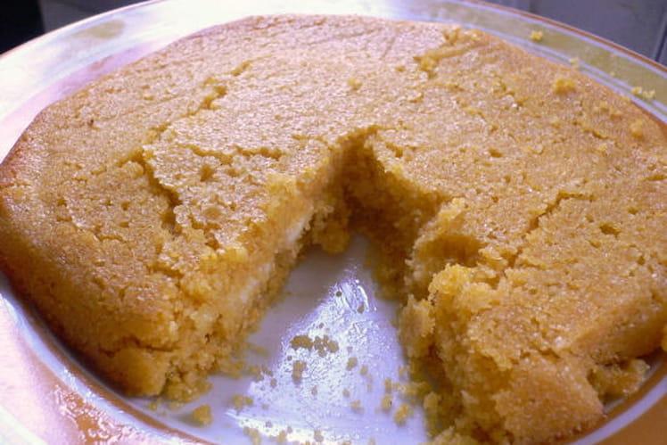 Gâteau de polenta à la fleur d'oranger