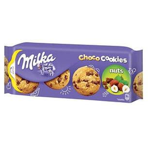 choco cookies noisettes