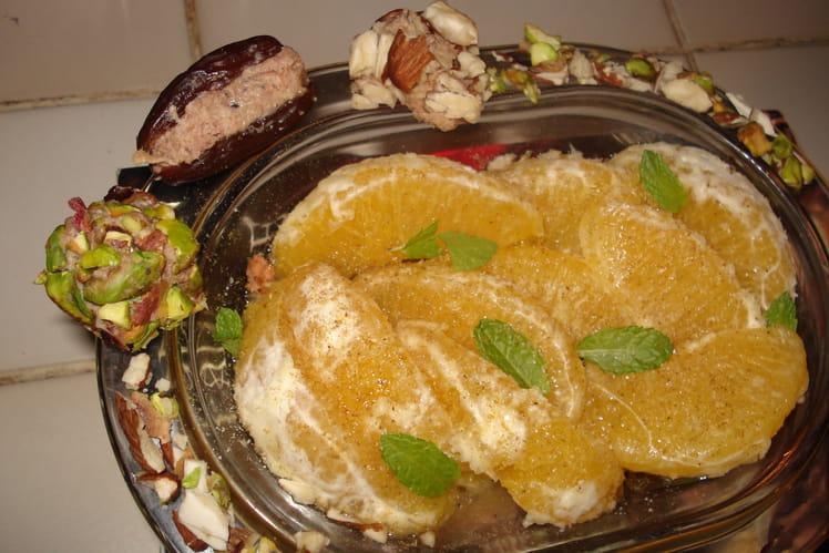 Salade aux fruits du soleil et truffes de pâté