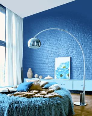 peinture les naturelles bleu crépuscule de ripolin