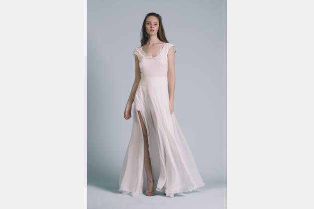Robe de mariée Brune