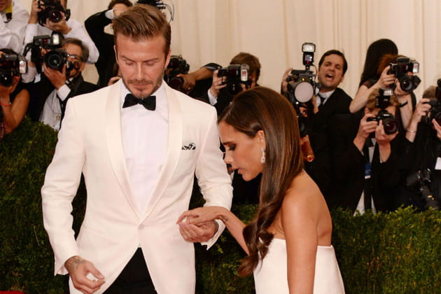 David et Victoria Beckham Met Ball 2014