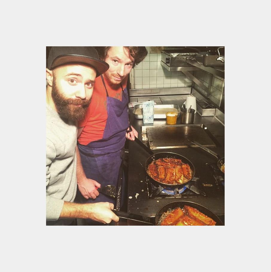 Jean Imbert cuisine (avec) Woodkid