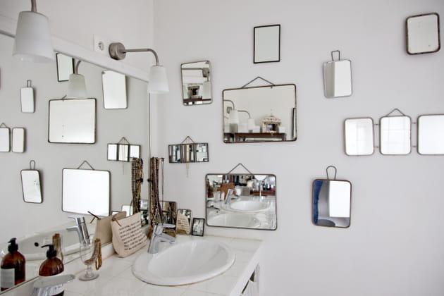 Miroirs en mosaïques