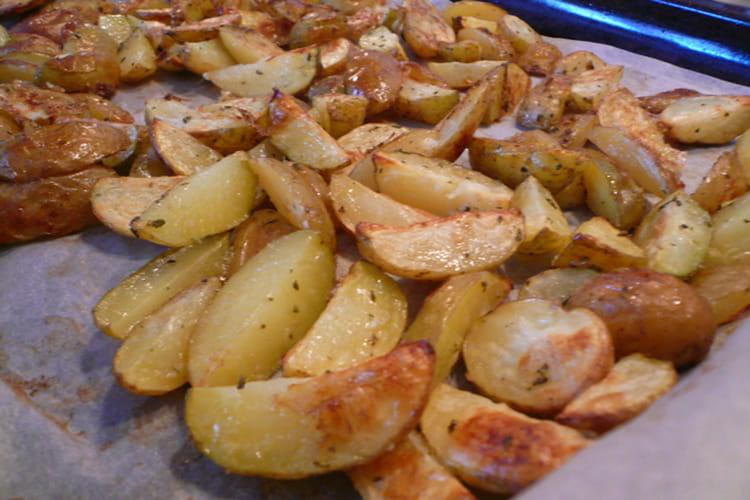 Pommes de terre au romarin au four