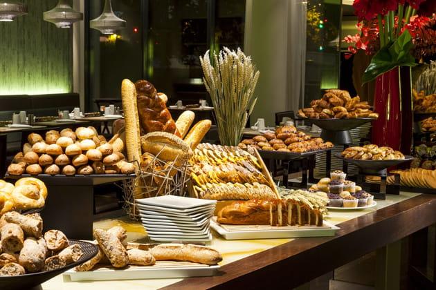 Le meilleur petit-déjeuner: le Pullman Paris Centre Bercy à Paris 12