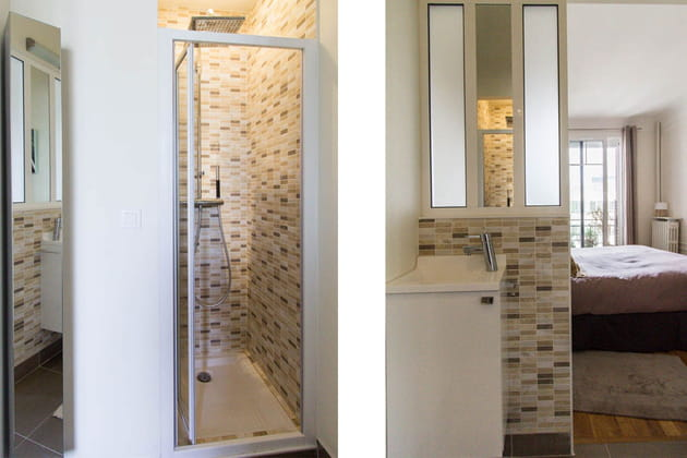 un bloc pour la salle d 39 eau. Black Bedroom Furniture Sets. Home Design Ideas