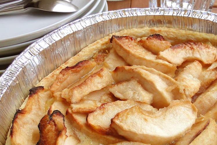 Tarte aux pommes à la crème d'amandes