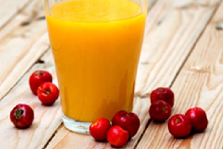 Smoothie vitaminé à l'acérola