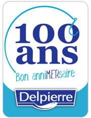 logo 100 ans delpierre