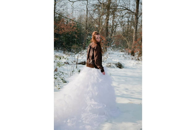 Robe mariage hiver
