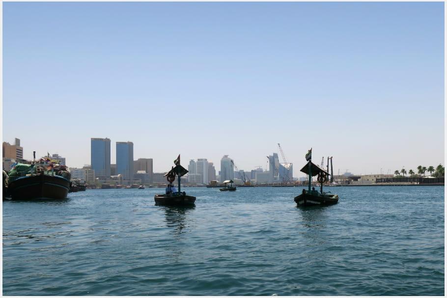 Le vieux Dubaï