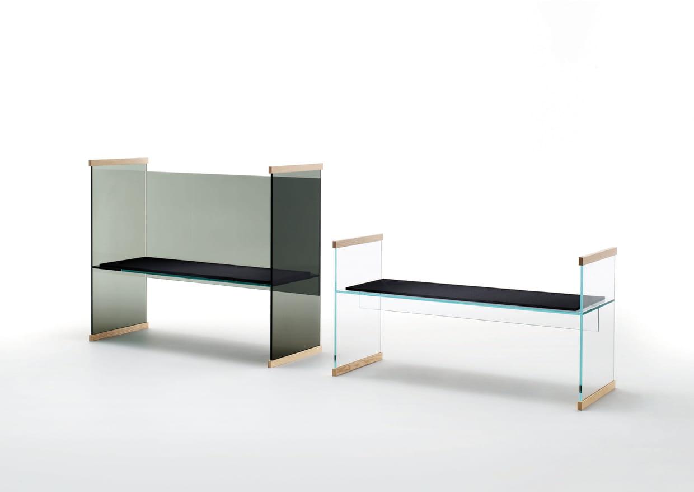 banc diapositive par ronan erwan bouroullec pour glas italia. Black Bedroom Furniture Sets. Home Design Ideas