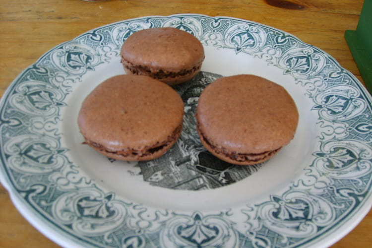 Macarons choco marron