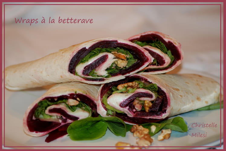 Wraps à la betterave