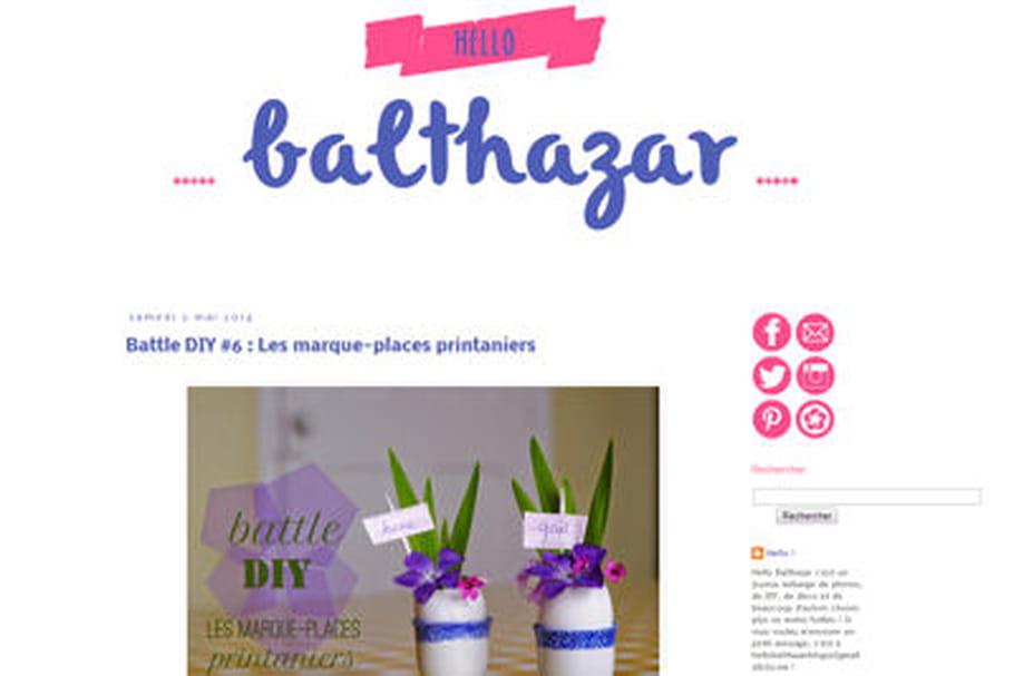 Le blog du moment : Hello Balthazar