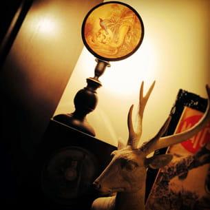 la lampe 'cabinet de curiosités' de justine