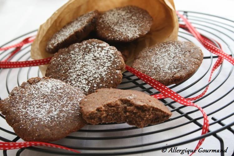 Cookies bananes-coco-cacao, bio, sans oeufs, gluten, lait etc