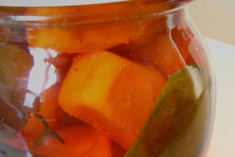 Kumquats confits au sirop de combawa