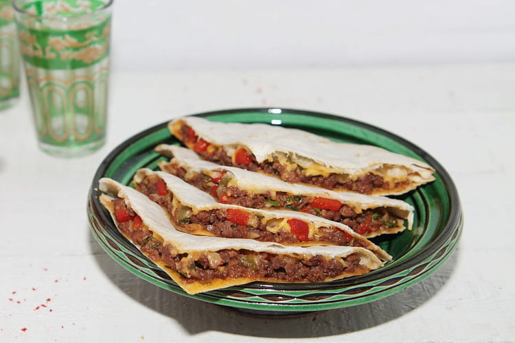 Quesadillas à la viande hachée : la meilleure recette