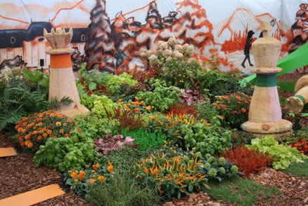 Le jardin sec facile entretenir for Jardin facile a entretenir