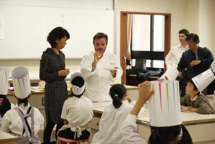 Michel Troisgros Semaine du Goût Tokyo