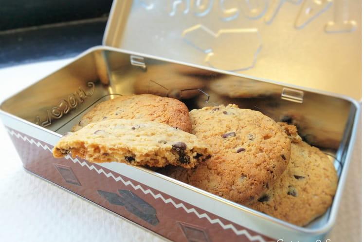 Cookies au chocolat et pralin (sans œufs)