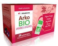 l'infusion arko bio jambes légères, par arkopharma.