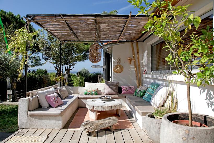 20 idées pour décorer une terrasse bohème chic