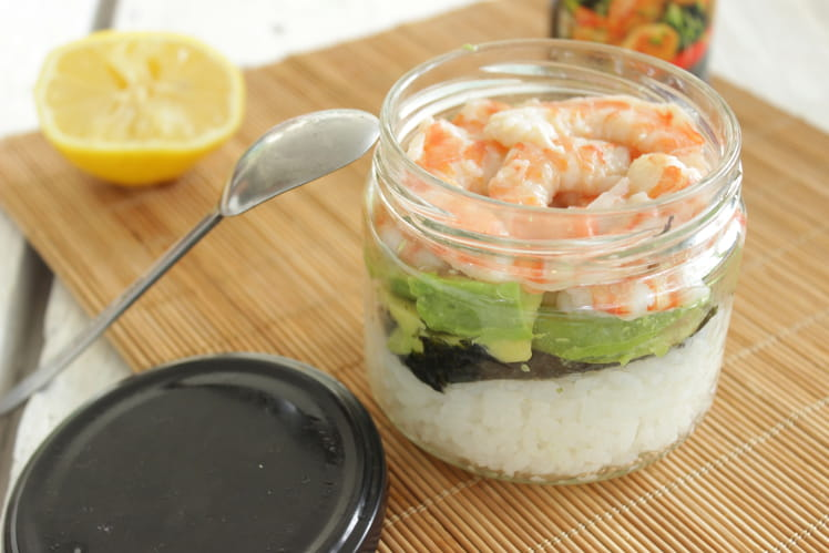 Maki en bocal Maki jar