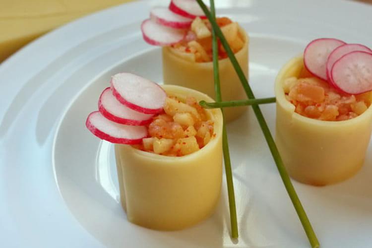 Maki de Comté pomme saumon