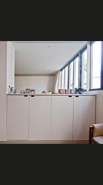 Solution n° 20 : épaissir les murs pour y intégrer des placards