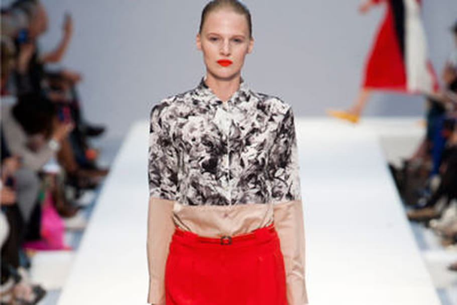 Fashion week: défilé d'optimisme coloré chez Paul Smith