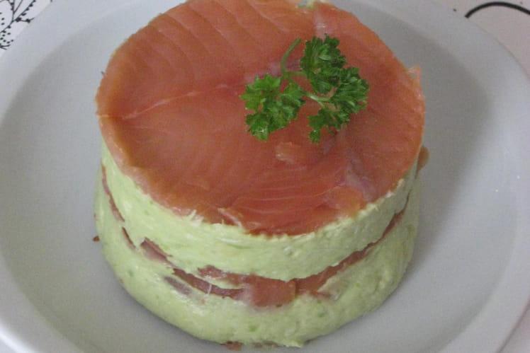 Guacamole au saumon