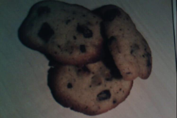 Cookies au chocolat au lait et poudre d'amandes