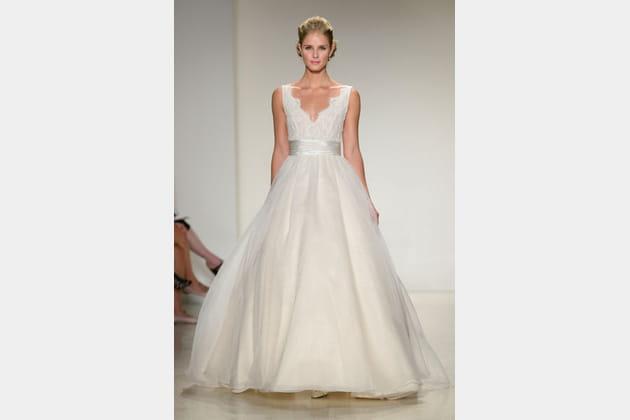 La robe décolletée Anne Barge