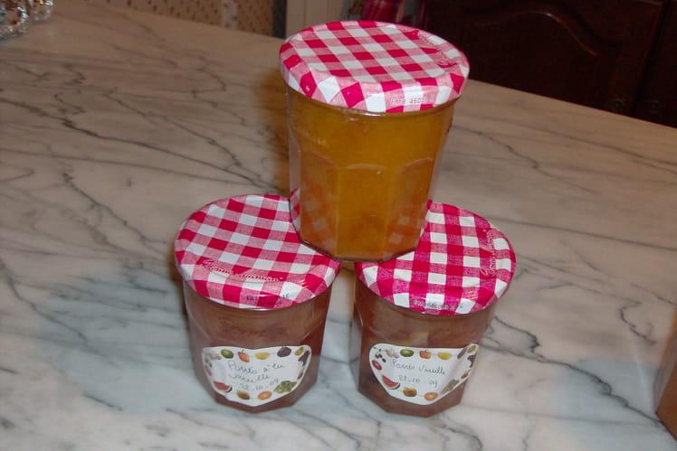 Confiture de poires, vanille et citron