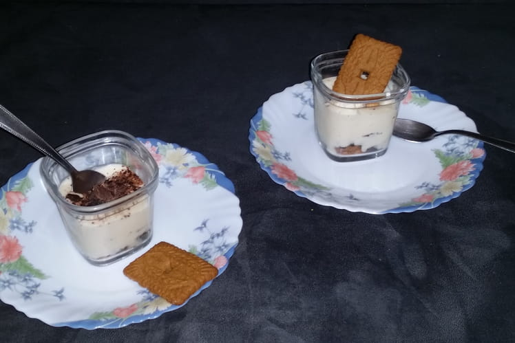 Tiramisu aux deux chocolats