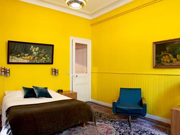 Couleur tournesol - Deco chambre jaune ...
