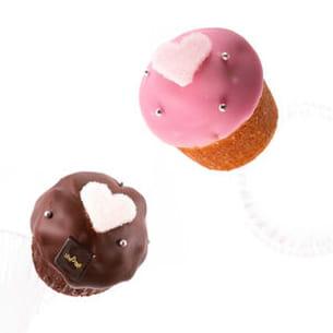 love duo de cupcakes de lenôtre