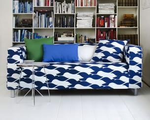housse bemz pour canap klippan d 39 ikea. Black Bedroom Furniture Sets. Home Design Ideas