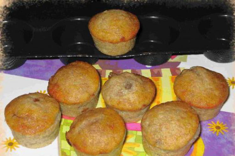 Muffins moelleux à la banane inratables
