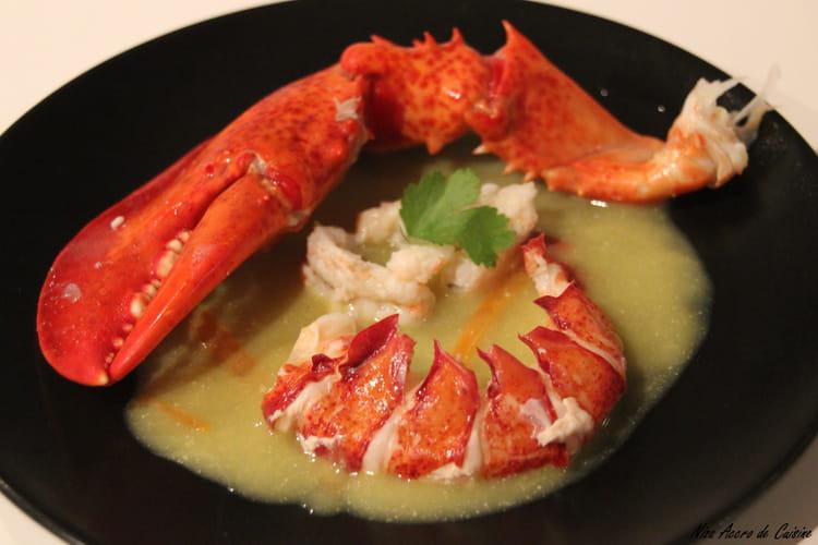 Recette de homard et langoustines la sauce safran e la - Cuisiner le homard vivant ...