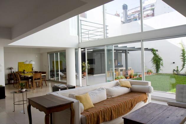 Agréable duplex en rez-de-jardin